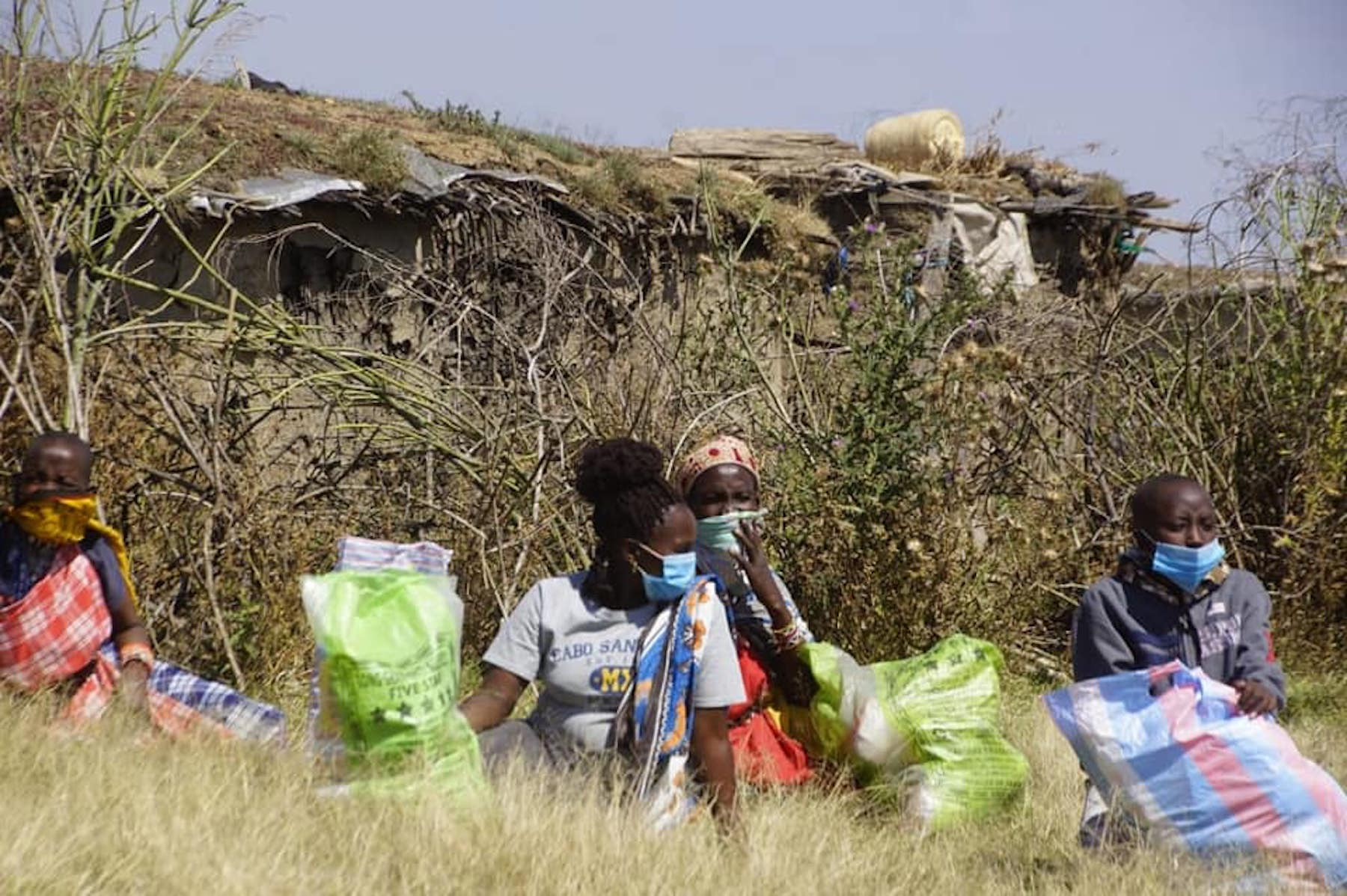Taking Vegan Food Aid to the Maasai Mara, Kenya