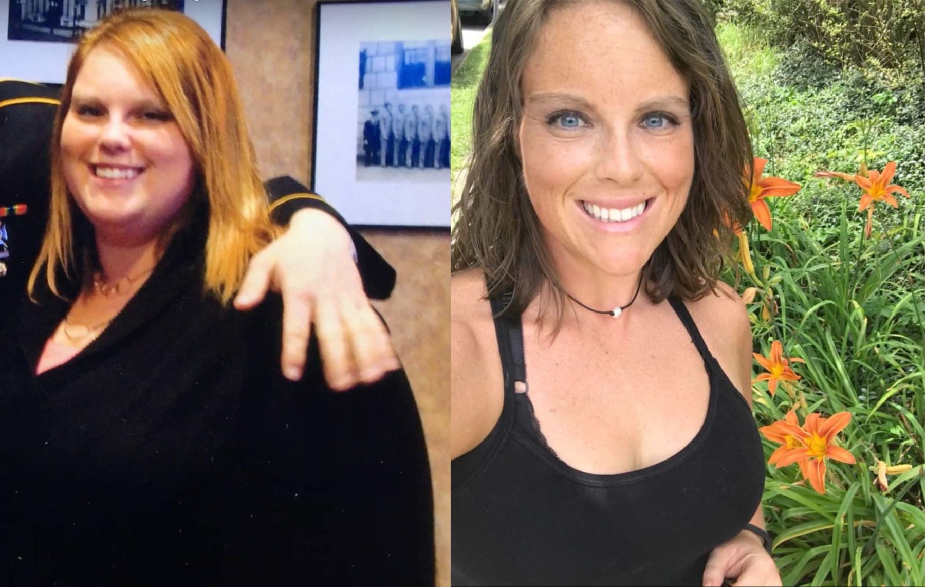 Amy Before and After Vegan
