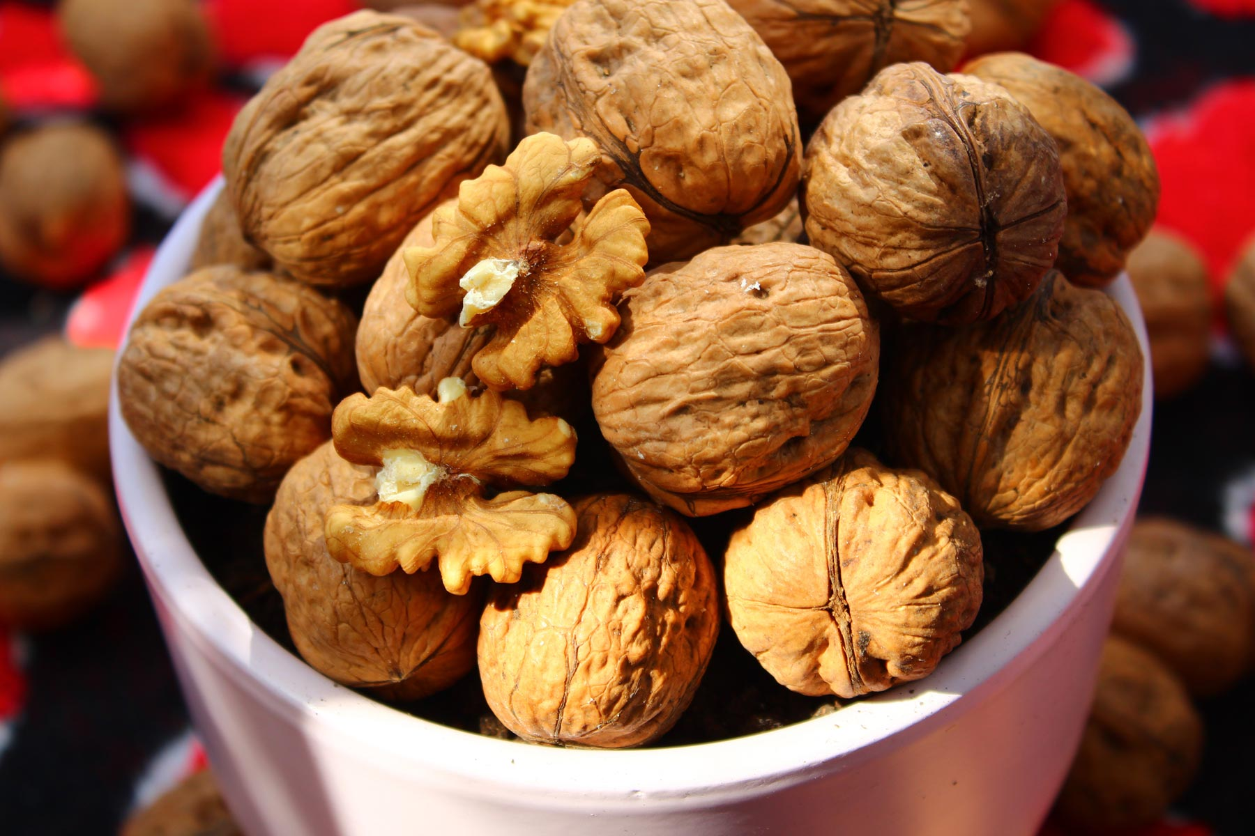 Walnuts are a great source of omega-3